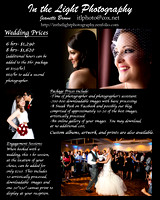 WeddingPriceList2015